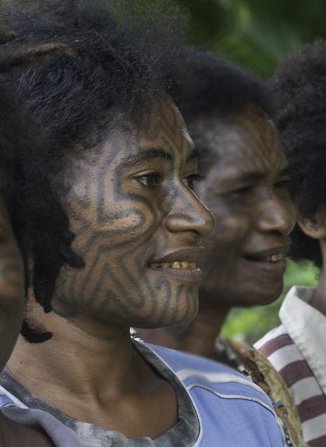 Mokoroa people,Papua, via Flickr.