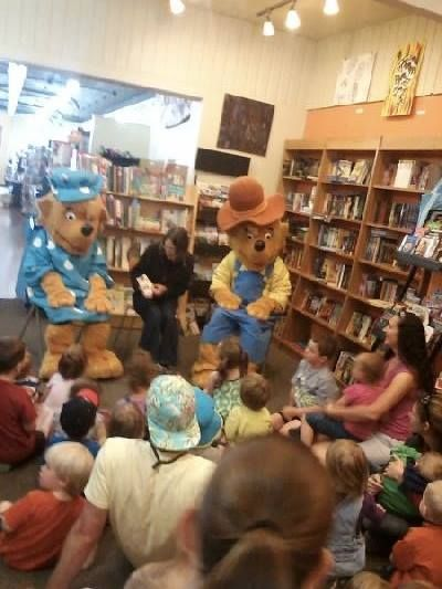 What fun we're having at Book People!