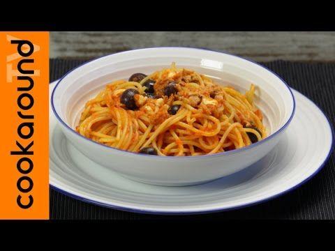 Spaghetti alla caprese con tonno - YouTube