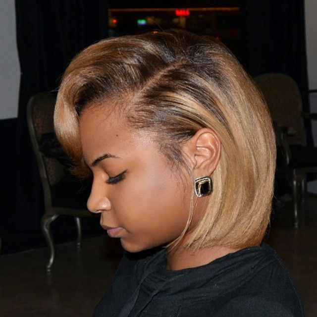 Short Hairstyle And The Colour Too
