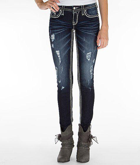 """Rock Revival Hera Skinny Stretch Jean"" www.buckle.com"
