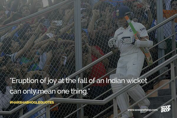Harsha Bhogle Quotes... #IndianCricket #Sachin