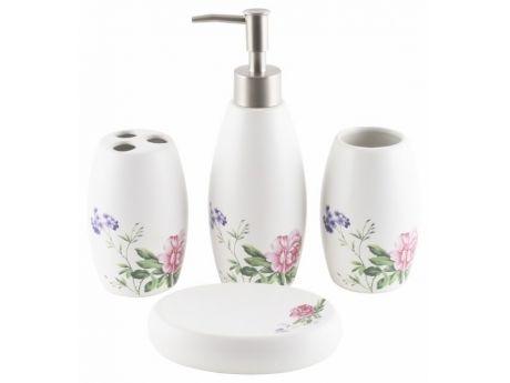 Oferta speciala - Set baie ceramica Flowers