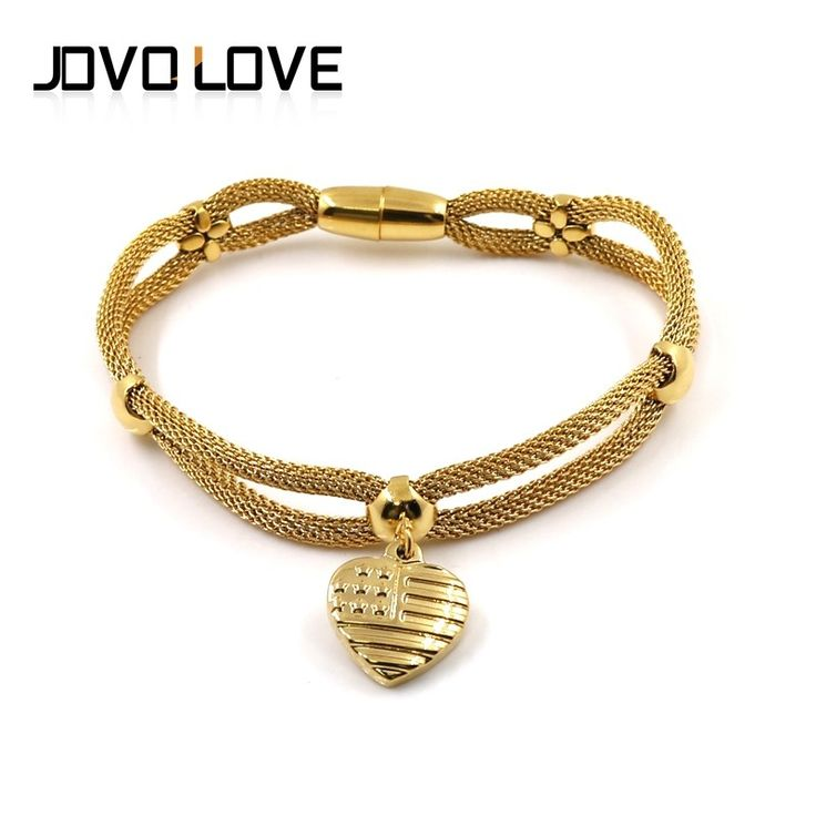 Newest Cheap Jewelry Gold Plated Stainless Steel Wire Bracelets for Ladies