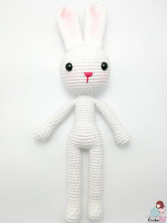 Amigurumi Bunny Pattern Crochet Bunny Pattern Photo Etsy