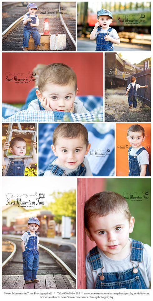 Steam Train Station photo session | Connecticut Child Photographer | Sweet Moments in Time Photography©