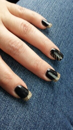 62 best nails images on pinterest nail designs coffin nails and black gold nexgen nails prinsesfo Choice Image