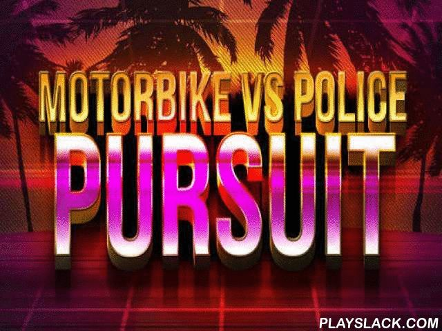 Motorbike Vs Police: Pursuit  Android Game - playslack.com , Control a motorcycle and aid the driver flee the police chasing   him. dodge disparate hazardous states. The conqueror of this Android game has committed a transgression and is now striving  to flee from the police. Police vehicles are chasing  the conqueror striving  to surround him. dodge contact with police vehicles, barriers, and different hindrances. outdistance your followers and get to a fail-safe place. Practice and do…