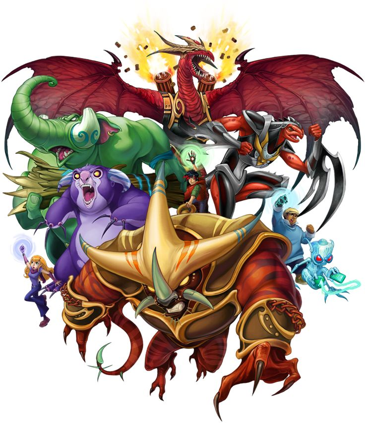 Artwork ive done for the kaijudo rise of the duelmasters