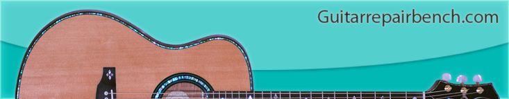 Acoustic Guitar Repair - Bridge Repair