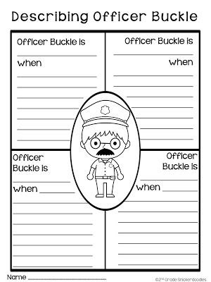 2nd Grade Snickerdoodles: Officer Buckle and Gloria: Freebie and More
