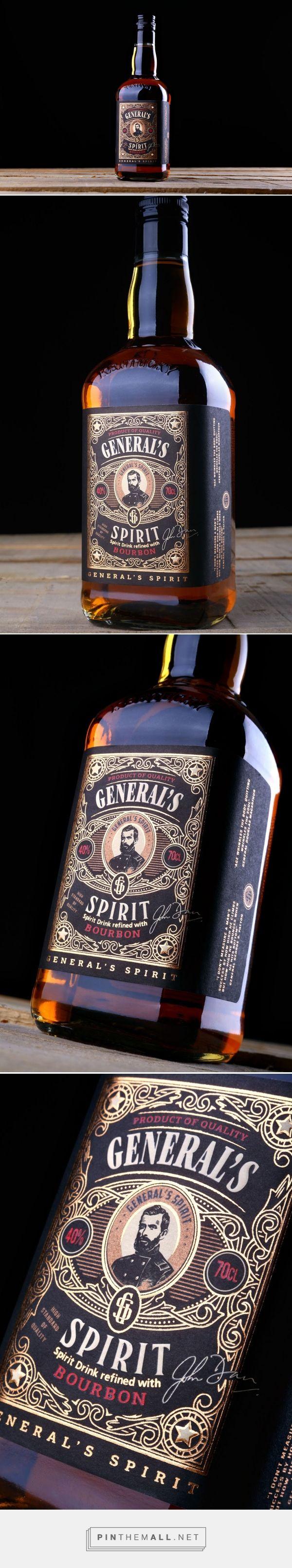 General's Spiri - Packaging of the World - Creative Package Design Gallery - http://www.packagingoftheworld.com/2016/09/generals-spirit.html