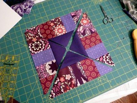 The Boardwalk Block Free Quilt Block Pattern Sewing