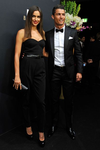 Irina Shayk In Michael Kors Strapless Jumpsuit at Fifa Ballon D'or on 7th of January 2013 in Zürich,Switzerland