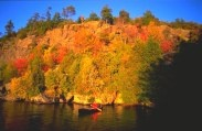 Huntsville area in Ontario, Canada! Gorgeous in fall.