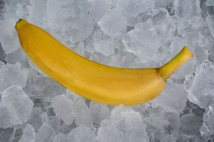 This is a guide about freezing bananas. Bananas are best when fresh but can turn brown and mushy quickly. A good way to preserve them is to freeze them for later use in baking recipes or smoothies.