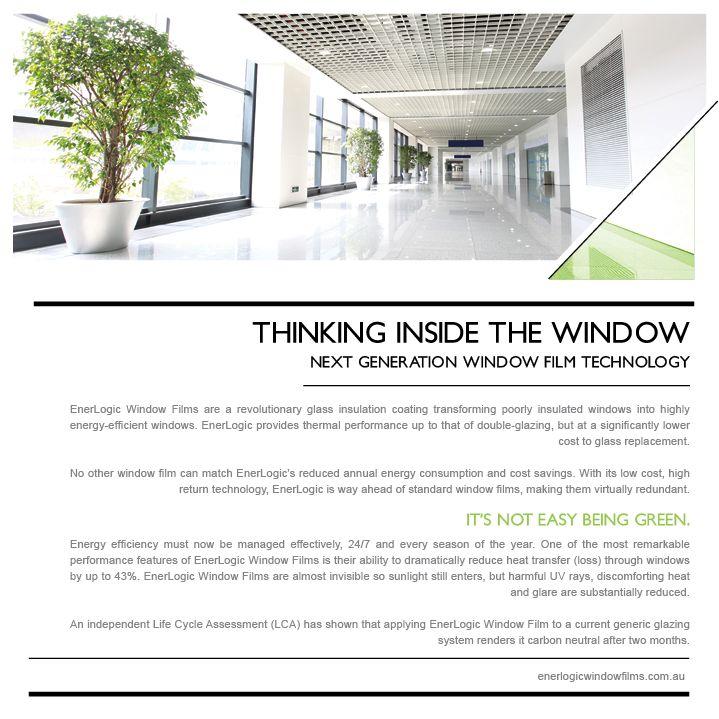 Enerlogic WIndow Film Brochure Page 2