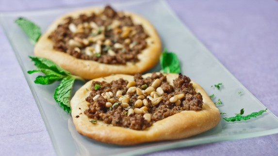 Turkish Meat Pies from Jo CooksMeat Pies Recipe, Meat Pies1, Dough Recipe, Middle Eastern, Pine Nut, Spices Mixed, Savory Recipe, Turkish Meat, Jo Cooking