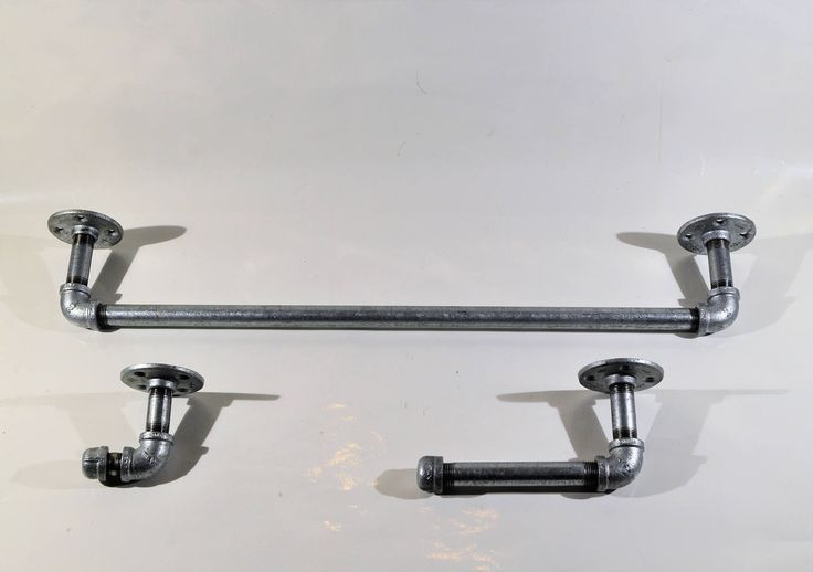 Simple Industrial Bathroom Hardware  Domestic Imperfection