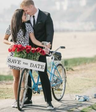 Was Such a Cute Save the Date Idea! <3 Sean Lowe and Catherine Giudici are getting married! Sun, Jan 26th 2014