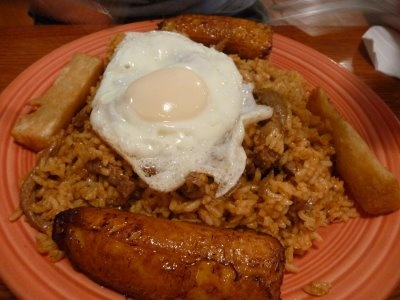 Majadito - go to Casa del Camba - Weekend Buffet - traditional Bolivian food