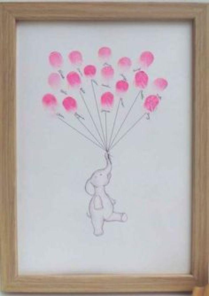 50 dessins très simples à réaliser avec des empreintes... C'est top pour des activités avec des enfants !