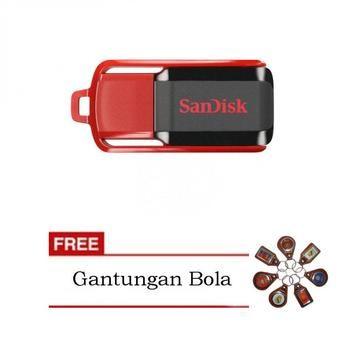 Belanja Sandisk Flashdisk Cruzer Switch CZ52 16GB + Gantungan Kunci Bola Indonesia Murah - Belanja Harddisk Eksternal di Lazada. FREE ONGKIR & Bisa COD.
