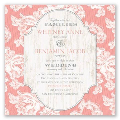 david tutera invitations lace love wedding invitation i from the david