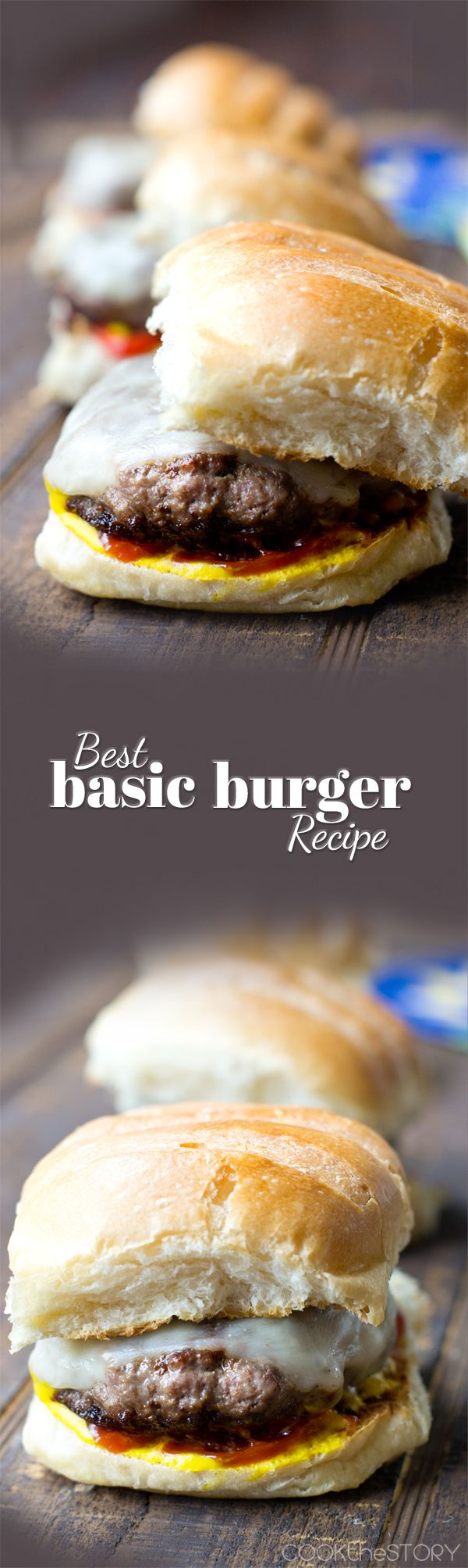 Best Basic Hamburger Recipe - Learn how to season, shape, and grill a hamburger to juicy perfection.
