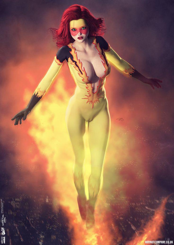 Firestar 'Dark City' Series by DevilishlyCreative.deviantart.com on @DeviantArt
