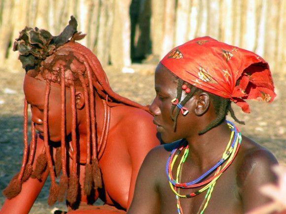 Kaokoland - Ragazze Himba l'Africa di Scirocco Tours by Press Tours