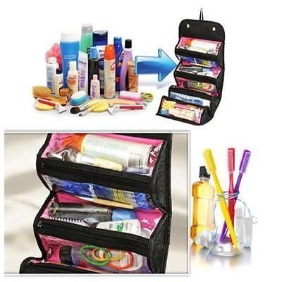NIEUWE Collectie Make Up Cosmetische Bag Case Vrouwen Make Zak Opknoping Toiletartikelen Reizen Kit Sieraden Organisator Cosmetische Case