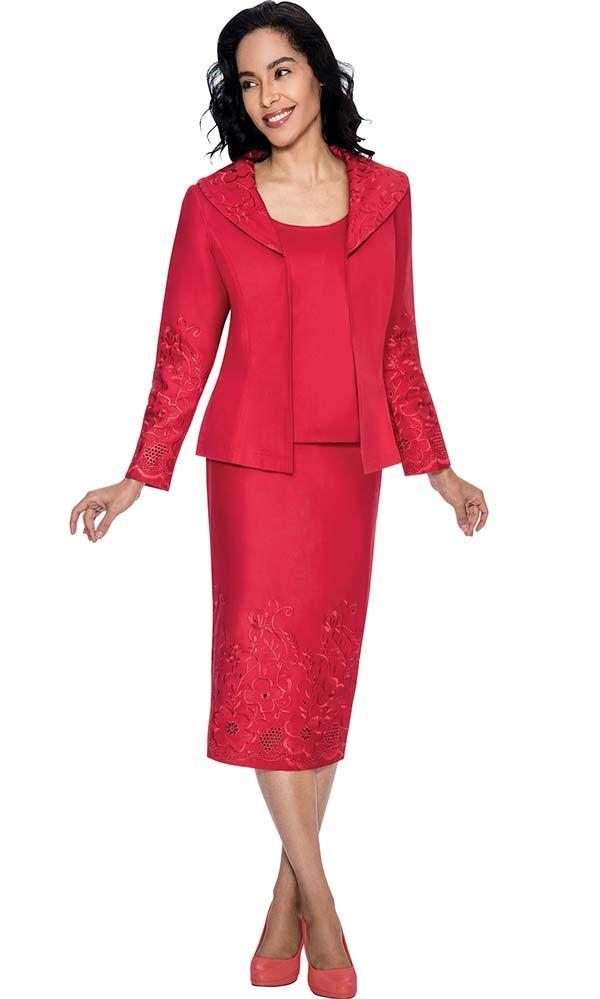 Two Piece Danny Nicole Red Dress