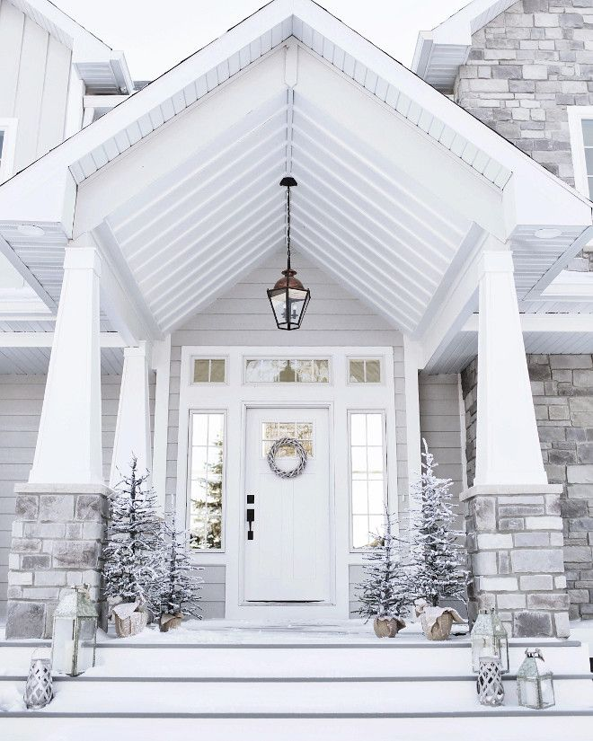 519 best front porch images on pinterest patio decks for Portico entrance with columns