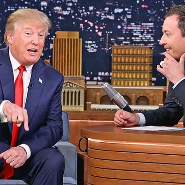 Hot: Donald Trump & Jimmy Fallon talk Kanye West 9/11 and apologies on The Tonight Show
