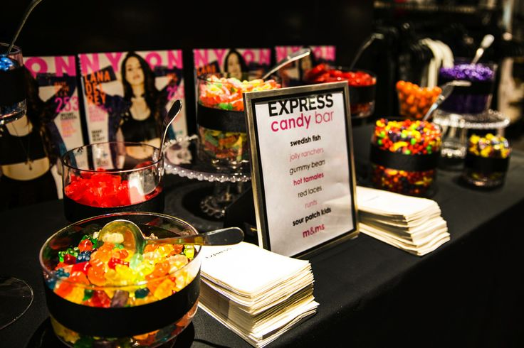 NYLON x Express Store Grand Opening - Candy Bar