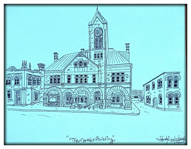 Sticks & Stones and the souls that created them: The Market Building, Collingwood Ontario