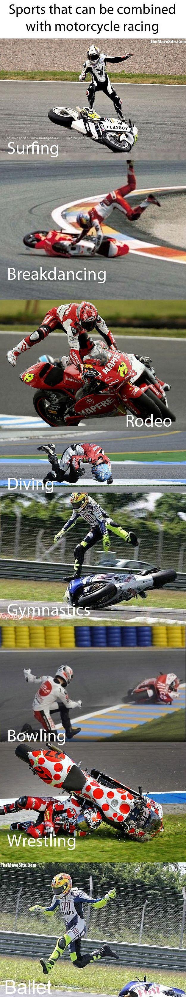 Motorcycle racing plus......