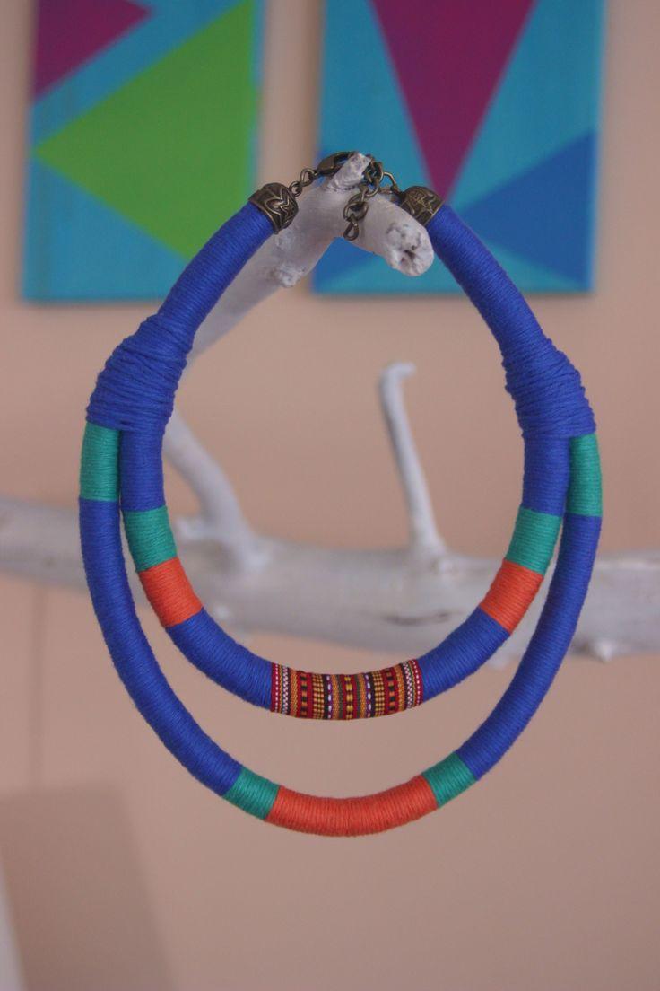 tribal boho hippy necklace  https://www.facebook.com/kolo.handmades?ref=hl