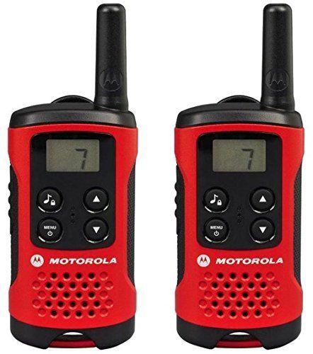 Motorola Paire de talkies walkies Motorola T40 portée en champs libre 4km Rouge: PAIRE DE TALKIES WALKIES MOTOROLA T40 ROUGE 226 unité(s)…