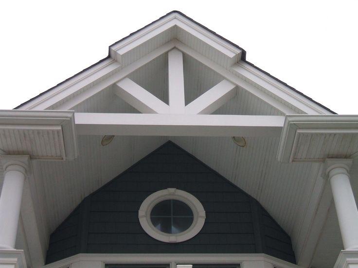 Exterior Design: Decorative Azek Trim For Home Exterior Design .