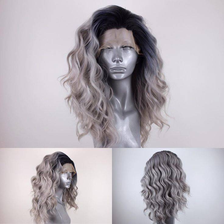 """1,225 Likes, 14 Comments - Josh Webster / Webster Wigs (@websterwigs) on Instagram: """" The Amber in """"Rooted Steel Grey"""" is almost sold out on my store! It's your last chance to grab…"""""""