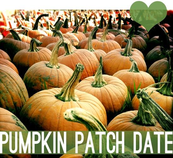 pumpkin patch date!