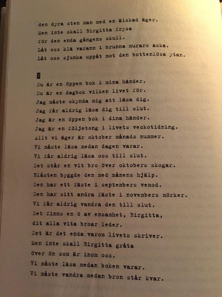 Stig Dagerman - Birgitta svit IV