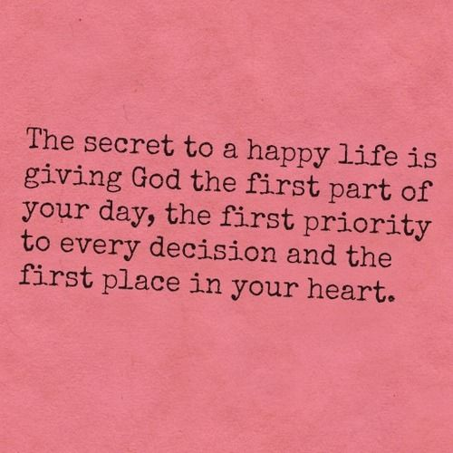 happy life secrets. truth