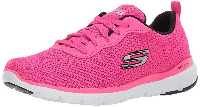 Skechers Flex Appeal 3.0 Sneakers Damen Rosa (Hot Pink