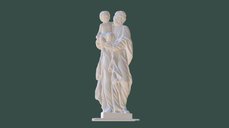 St. Joseph sculpture by kubo.kocica