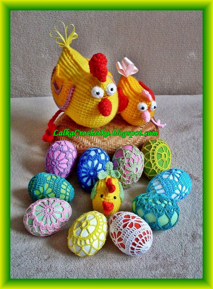 Lalka Crochetka: Easter eggs ... Wielkanoc i pisanki