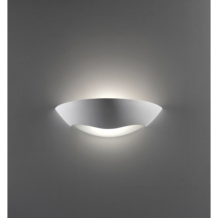 Raw Ceramic Wall Light Complete With Frosted Glass Areas Can Be Painted Any Water Based Paint