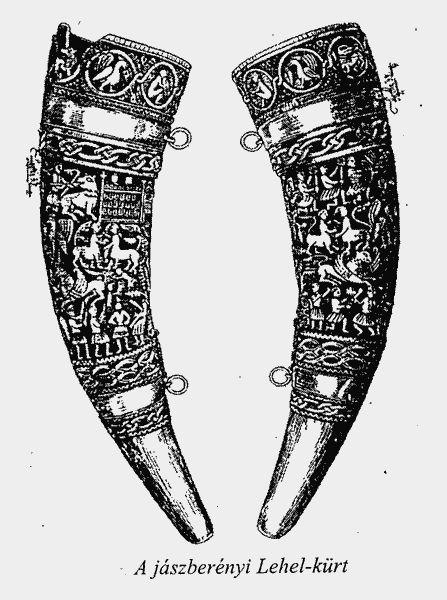 Hunting horm of Jaszbereny, 11th c. Google Image Result for http://istvandr.kiszely.hu/ostortenet/kep/33.gif